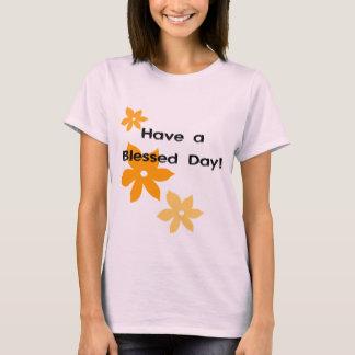 T-shirt Ayez un jour béni