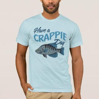 T-shirt Ayez un jour de pêche de crapet