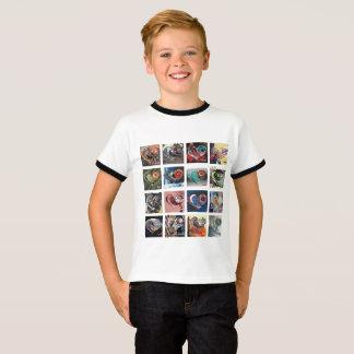 T-shirt Ayez une sonnerie T de la jeunesse de coeur