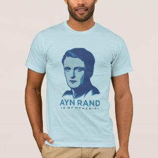 T-shirt Ayn Rand est mon Homegirl