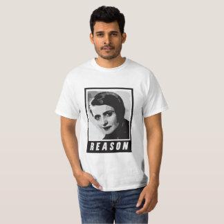 T-shirt Ayn Rand : Raison