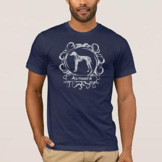 T-shirt Azawakh patiné chic