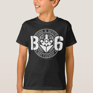T-shirt B6 défendent et détruisent