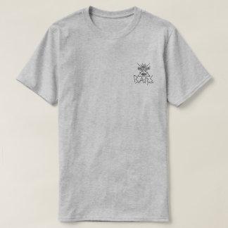 T-shirt B.A.R.S. Pièce en t noire de correction