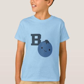 T-shirt B est pour la myrtille