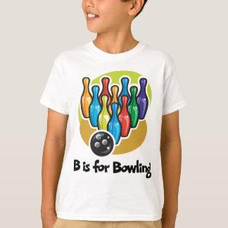 T-shirt B est pour le roulement