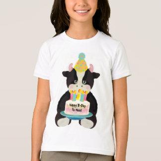 T-shirt B-Jour heureux au MOO !