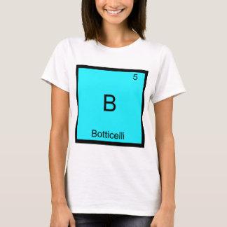 T-shirt B - Pièce en t drôle de symbole d'élément de