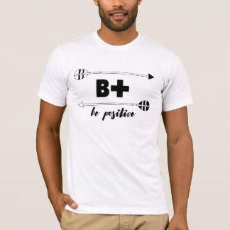 T-shirt B+ Pièce en t pour Archer en couleurs les couleurs