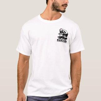 T-shirt B&w w/red Fez de GGR