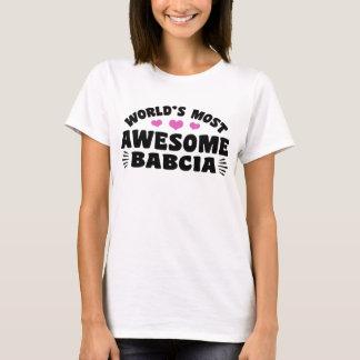 T-shirt Babcia le plus impressionnant du monde