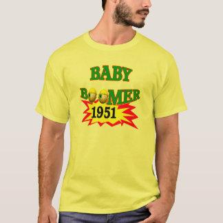 T-shirt Baby boomer 1951