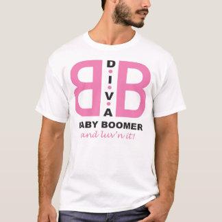 T-shirt Baby boomer de diva et luv'n il !