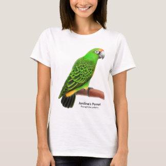 T-shirt Babydoll de dames de perroquet de Jardines
