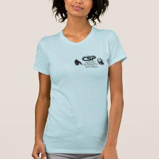T-shirt Babydoll de dames d'écart-type de CSP