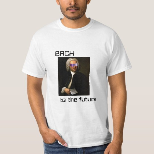 T-shirt Bach to the future