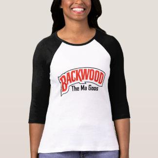 T-shirt Backwood et la pièce en t de substances gluantes