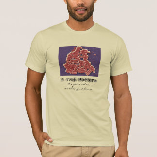 T-shirt Bactéries d'Escherichia coli
