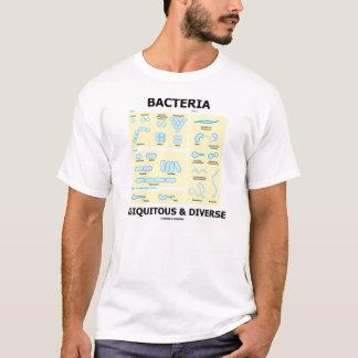 T-shirt Bactéries omniprésentes et diverses (humour de