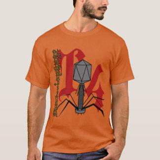 T-shirt Bactériophage T4