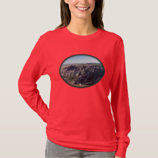 T-shirt Bad-lands le Dakota du Sud