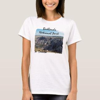 T-shirt Bad-lands, le Dakota du Sud