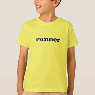 T-shirt badine la chemise de coureur