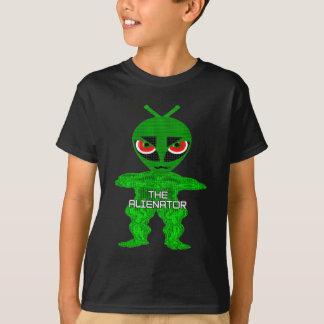 T-shirt Badine le caractère d'Alienator