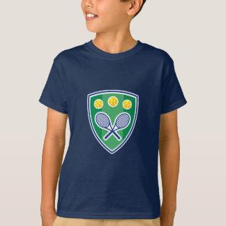 T-shirt Badine le tee - shirt de tennis avec l'emblème