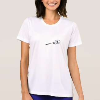 T-shirt Badminton classic Tee-shirt for woman