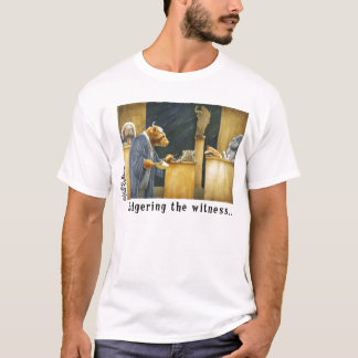 T-shirt Bagering le témoin