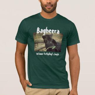 T-shirt Bagheera : Accueil à la jungle de Kipling