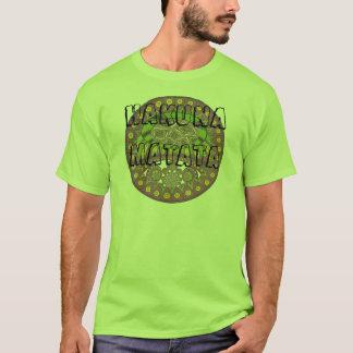 T-shirt Bagout ethnique décoratif de prune de dentelle