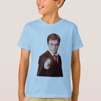 T-shirt Baguette magique de points de Harry Potter