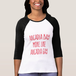 T-shirt Baie d'Arcadie plutôt l'Arcadie gai