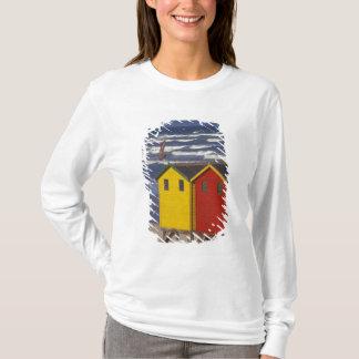 T-shirt Baie de St James baignant des boîtes, près de