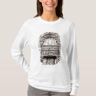 T-shirt Baie droite du portail royal, moitié du 12ème