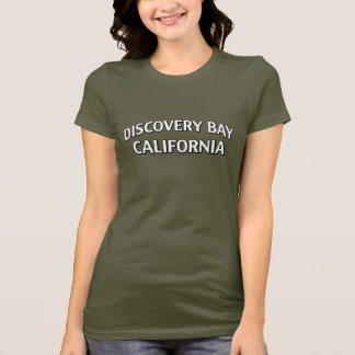 T-shirt Baie la Californie de découverte