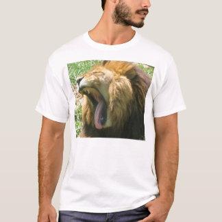 T-shirt Bâillement de lion