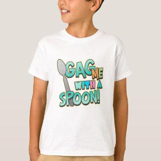 T-shirt Bâillonnez-moi avec une cuillère