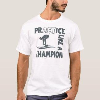 T-shirt Bain de pratique, gris