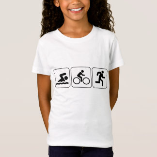 T-Shirt Bain, vélo, course - triathlon