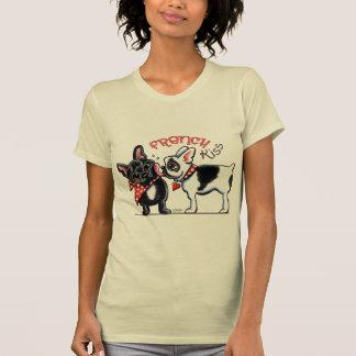 T-shirt Baiser de bouledogue français