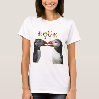 T-shirt Baiser de deux macareux