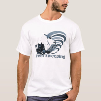 T-shirt Balayage de rue de tornade