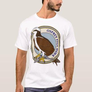 T-shirt Balbuzard (faucon de poissons) avec le crochet-m