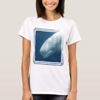 T-shirt Baleine blanche