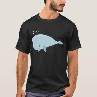 T-shirt Baleine bleue