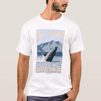 T-shirt Baleine de bosse - Juneau, Alaska