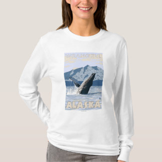T-shirt Baleine de bosse - Wrangell, Alaska